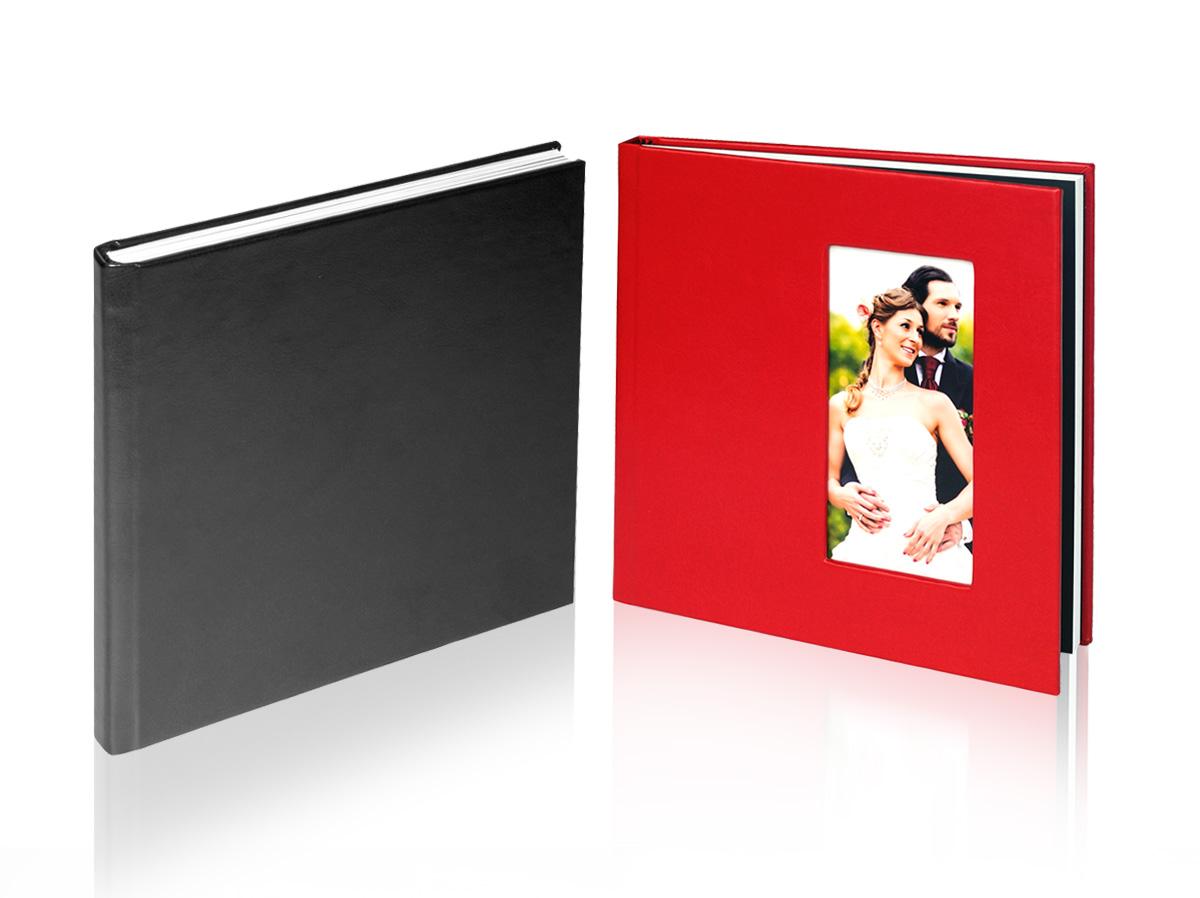 fotoalbum 20x20cm z okładką z jednym oknem NA3
